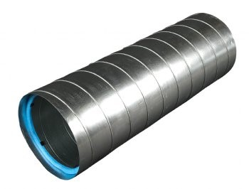 Dual Wall Spiral Pipe And Fittings Dual Wall Rectangular Duct And Fittings Metro Mechanical Supply
